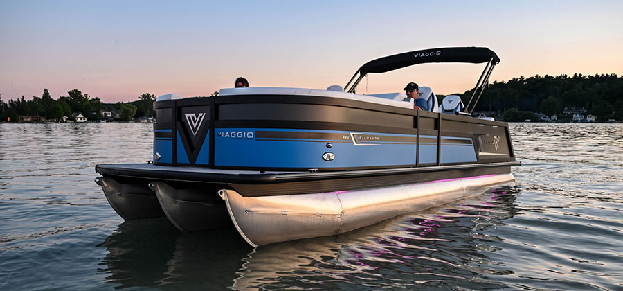 Viaggio Pontoon Boats